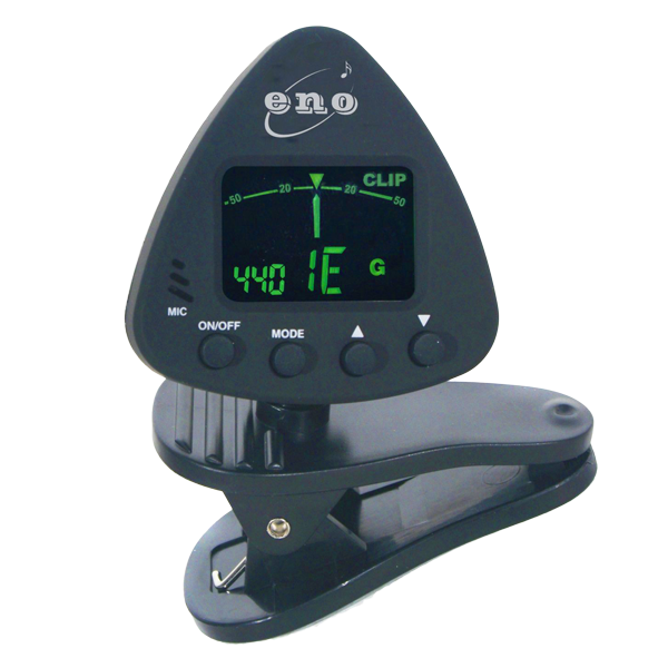 Make sure you're always in tune with this clip-on ukulele tuner!